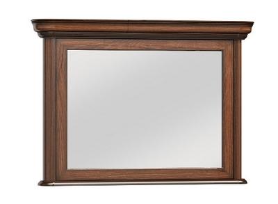 drewniane lustro